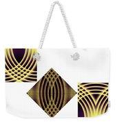 3 Square Weekender Tote Bag