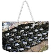 81mm Mortar Rounds Ready Stacked Ready Weekender Tote Bag
