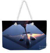 A B-2 Spirit Bomber Conducts Weekender Tote Bag by Stocktrek Images