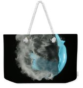 A Balloon Is Popped By A Gun Weekender Tote Bag