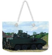 A Belgian Army Piranha IIic Weekender Tote Bag by Luc De Jaeger