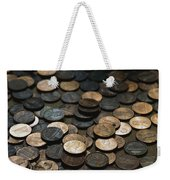 A Close View Of American Money Weekender Tote Bag
