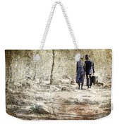 A Couple In The Woods Weekender Tote Bag by Joana Kruse