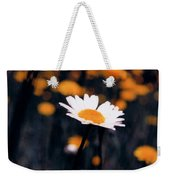 A Daisy Alone Weekender Tote Bag