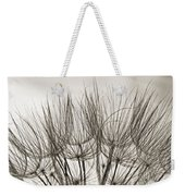 A Delicate World Monochrome Weekender Tote Bag