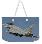 A Eurofighter F-2000 Of The Italian Air Weekender Tote Bag
