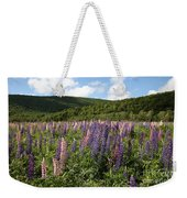 A Field Of Lupins Weekender Tote Bag