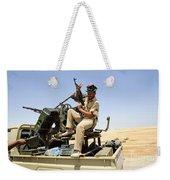 A Free Libyan Army Pickup Truck Weekender Tote Bag