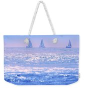 A Good Day For Sailing Weekender Tote Bag