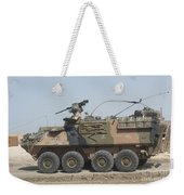 A Lav IIi Infantry Fighting Vehicle Weekender Tote Bag