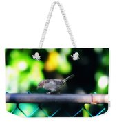 A Little Birdie Told Me Weekender Tote Bag