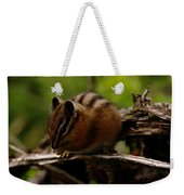 A Little Chipmunk Weekender Tote Bag
