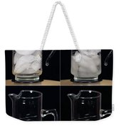 A Pitcher Of Ice Melts Over 4 Hours Weekender Tote Bag