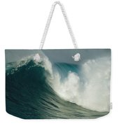 A Powerful Wave, Or Jaws, Off The North Weekender Tote Bag