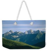 A Scenic View Of The Rocky Mountains Weekender Tote Bag