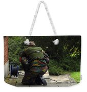 A Soldier Of The Belgian Army Weekender Tote Bag
