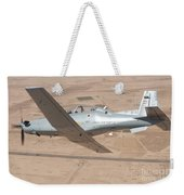 A T-6 Texan Flying Over Camp Speicher Weekender Tote Bag