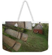 A Turn-of-the-century Peg Barn As Seen Weekender Tote Bag