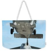 A U.s. Navy Mh-60s Seahawk Helicopter Weekender Tote Bag
