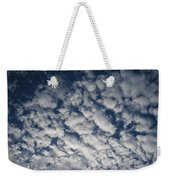 A View Of A Cloud-filled Sky Over Miami Weekender Tote Bag