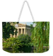 A View Of The Parthenon 17 Weekender Tote Bag