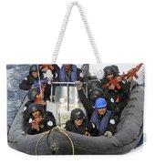 A Visit, Board, Search And Seizure Team Weekender Tote Bag