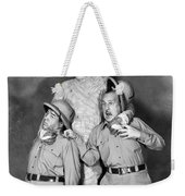 Abbott And Costello Weekender Tote Bag by Granger