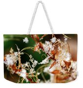 Abstract And Ice Crystals Weekender Tote Bag