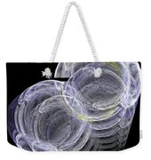 Abstract Fifty-eight Weekender Tote Bag