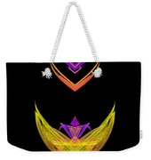 Abstract Fifty-five Weekender Tote Bag