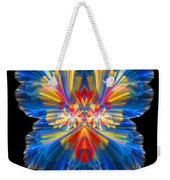 Abstract Forty-nine Weekender Tote Bag