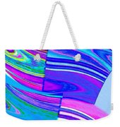 Abstract Fusion 44 Weekender Tote Bag
