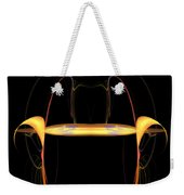 Abstract Nine Weekender Tote Bag