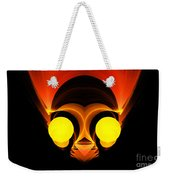 Abstract Twenty-six Weekender Tote Bag