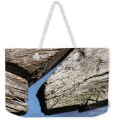Abstract With Angles Weekender Tote Bag