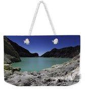 Acidic Crater Lake On Kawah Ijen Weekender Tote Bag