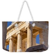 Acropolis Temple Weekender Tote Bag by Brian Jannsen