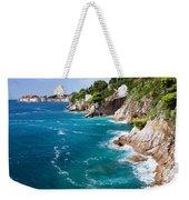 Adriatic Sea Coastline Weekender Tote Bag