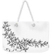 Advertising Art: Wreath Weekender Tote Bag
