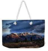 Alaskan Morning Weekender Tote Bag