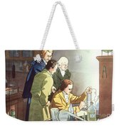 Alessandro Volta, Italian Physicist Weekender Tote Bag