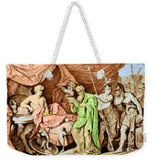 Alexander The Great And His Physician Weekender Tote Bag