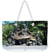 Alice In Wonderland In Central Park Weekender Tote Bag