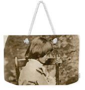 Alice Liddell, Alices Adventures Weekender Tote Bag