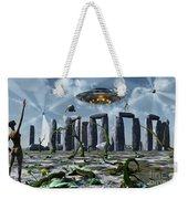 Alien Interdimensional Beings Recharge Weekender Tote Bag