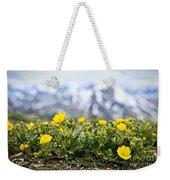 Alpine Meadow In Jasper National Park Weekender Tote Bag by Elena Elisseeva