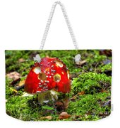 Amanita Muscaria Weekender Tote Bag