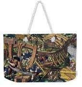 America: Shipbuilding, C1594 Weekender Tote Bag