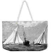 Americas Cup, 1887 Weekender Tote Bag
