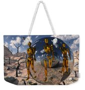 An Advanced Civilization Uses Time Weekender Tote Bag